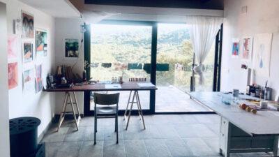 apartment 40 m2/flexible working area